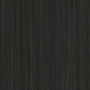 Black timber floor