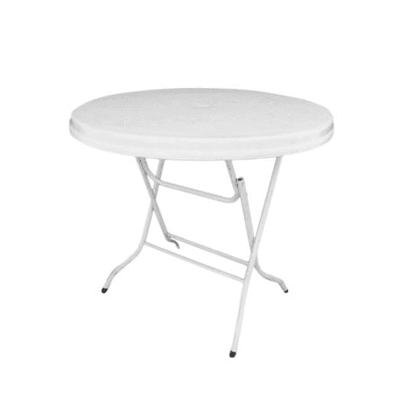 plastic white tables adelaide