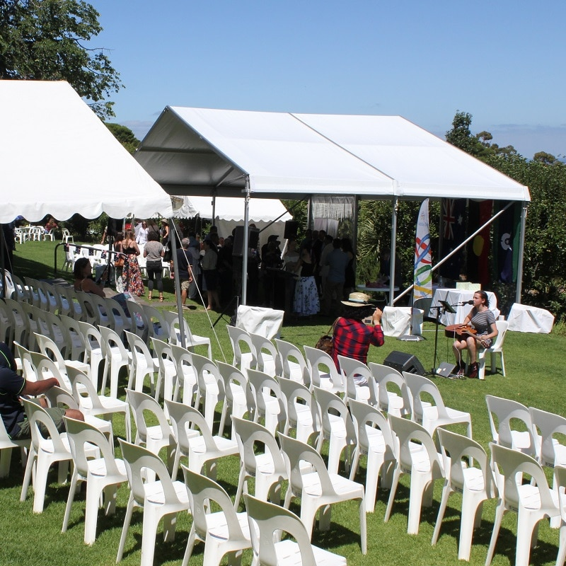Pavilion Hire Australia Day marquee carrickhill