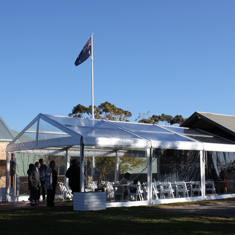 Wedding Hire Adelaide marquee for ceremony