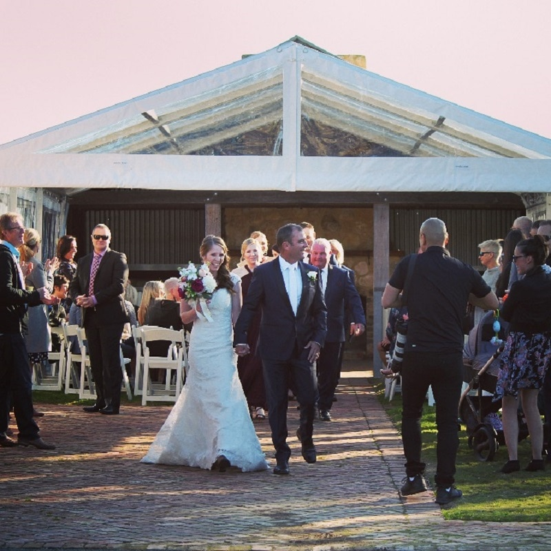 Winery wedding SA