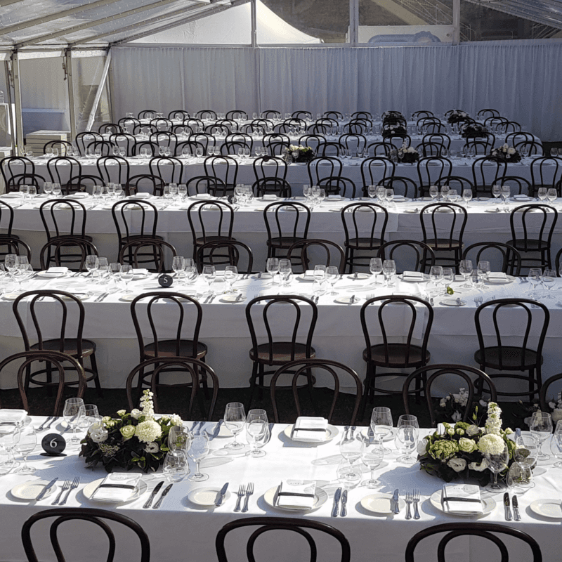 Wedding Hire Adelaide banquet tables