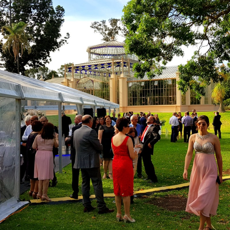 Wedding Hire Adelaide botanic gardens